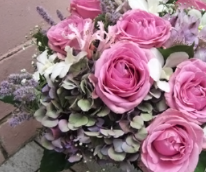 chic, roses, and decoration image