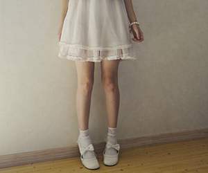 <3, girlie, and white image