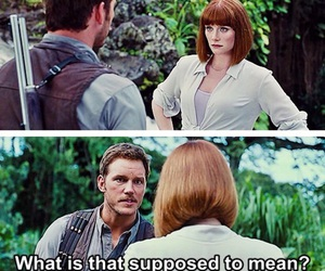 jurassic world, clawen, and owen and clair image