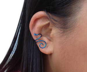 etsy, ear wrap, and cuff earrings image