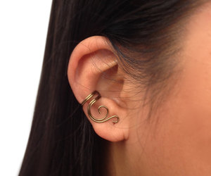 earcuffs, etsy, and ear wrap image