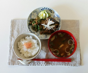 breakfast, food, and japan image