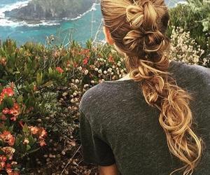 braid, hair, and blake lively image