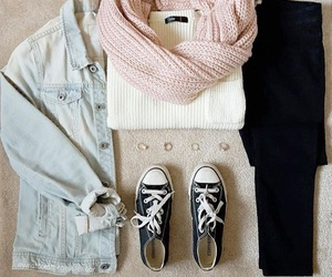 converse, ootd, and cute image