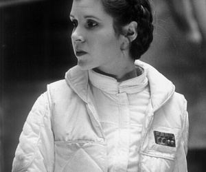 star wars, carrie fisher, and princess image