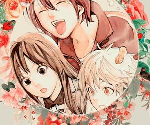 anime, manga, and noragami image