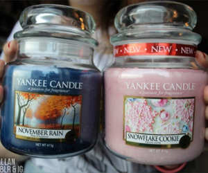 candles and yankee candle image