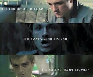 the hunger games, capitol, and peeta image