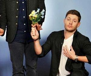 supernatural, Jensen Ackles, and castiel image