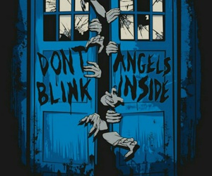 doctor who, tardis, and don't blink image