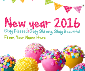 happy new year card picture with name new year wishes name pix