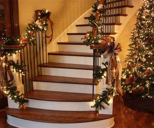 december, lights, and steps image