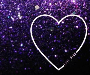 purple, glitter, and wallpaper image