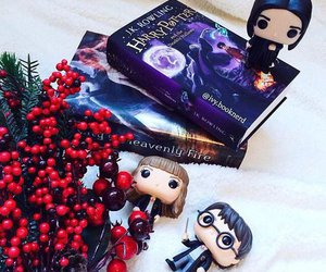 books, childhood, and harry potter image