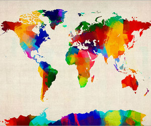 world and country image