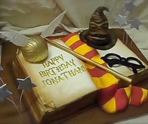 cake, harry potter, and cool image