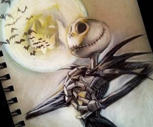 drawing, art, and Halloween image