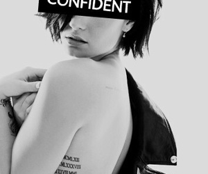 confident, music, and demi lovato image