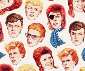 david bowie, bowie, and pattern image