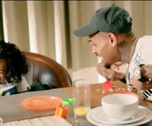 chris brown, family, and royalty image