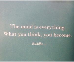 quote, Buddha, and mind image