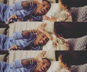 chris brown, royalty, and love image