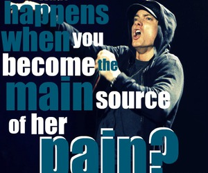 eminem, typography, and love image