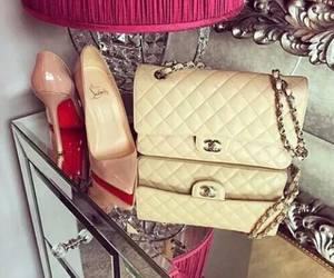 chanel, heels, and luxury image