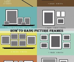 diy, picture, and frame image