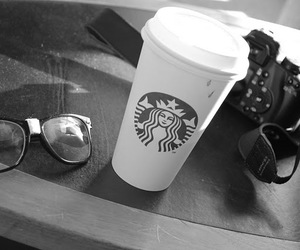black and white, glasses, and photogrophy image