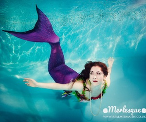 mermaids, ocean, and underwater image