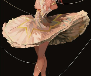 anime, art, and ballerina image
