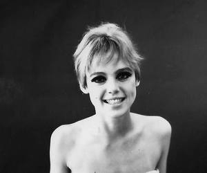 beautiful, black and white, and edie sedgwick image