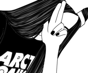 black&white, fuck, and girl image