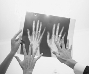 'love', 'hands', and 'black&white' image