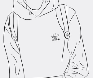 drawing and outline image