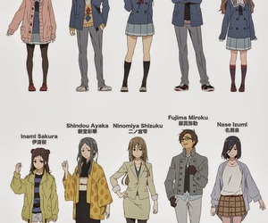 anime, kyoukai no kanata, and beyond the boundary image