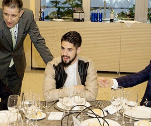 real madrid, denis cheryshev, and isco alarcon image