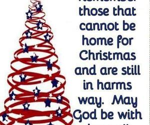 away, christmas, and military image