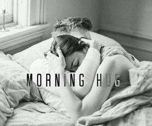 couple, happiness, and morning image