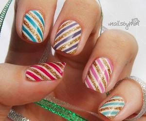 nail, nails, and crismas image
