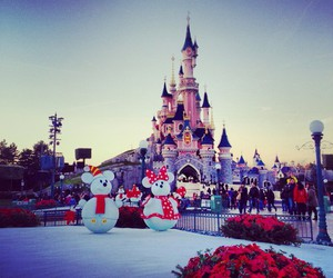 disney, winter, and snow image