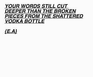 heartbroken, love, and scream poem image