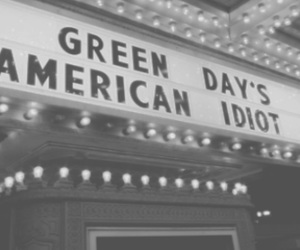 concert, american idiot, and green day image
