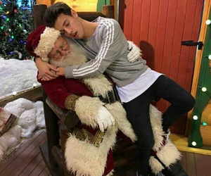 cameron dallas, christmas, and boy image