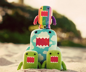 domo, cute, and clouds image