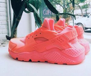 nike, girl, and huarache image