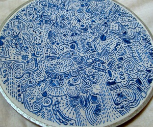 artistic, embroidery, and textiles image