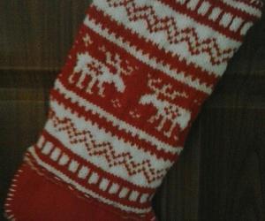 christmas, red, and crochet image