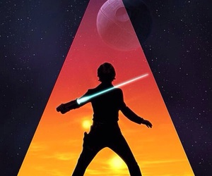 star wars, wallpaper, and luke skywalker image